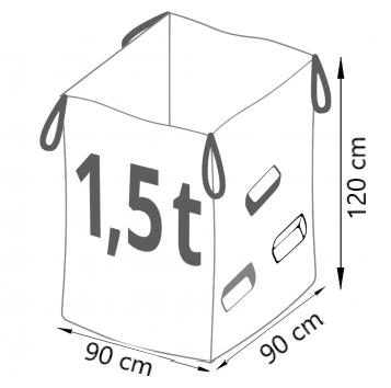worek big bag na papę Warszawa
